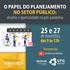 """Seminário """"O papel do planejamento no setor público"""""""