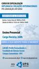 Especialização em Diplomacia e Relações Internacionais