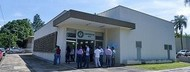 Fachada do Auditório da EVZ Foto: Carlos Siqueira/Secom UFG