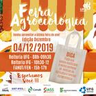Feira Agroecológica da UFG - Dezembro 2019