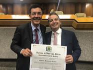 Reitor Edward recebe homenagem da Câmara Municipal