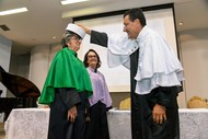 Maria Zaira Turchi e Celina Maria Turchi Martelli receberam o título de Professora Emérita na UFG