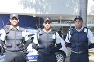 Seguranças motorizada do campus recebem teasers