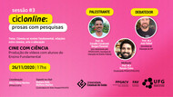 """""""Cine com Ciência – Produção de vídeos com alunos do Ensino Fundamental"""""""