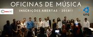 Emac abre inscrições para programa Oficinas de Música