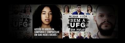 Banner Minha Vida sem a UFG