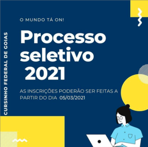 Cursinho Federal de Goiás 2021 post