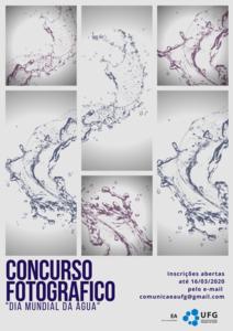 """concurso fotográfico com o tema """"Dia Mundial da Água"""""""