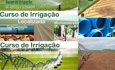 Escola de Agronomia da UFG Oferece Cursos de Irrigação