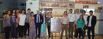 Cerimônia de inauguração do C.A. de Biotecnologia