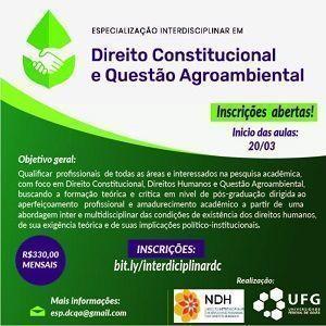 Direito Constitucional e Questão Agroambiental 2