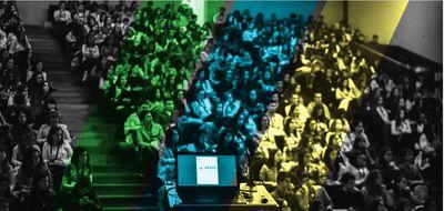 Estudantes da UFG na Brazil Conference (Foto: Portal Brazil Conference)