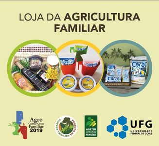 Loja da Agricultura Familiar Divulgação