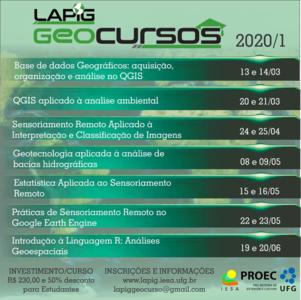 Lapig Geocursos 2020/1