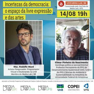 """""""Incertezas da democracia: o espaço da livre expressão e das artes"""""""