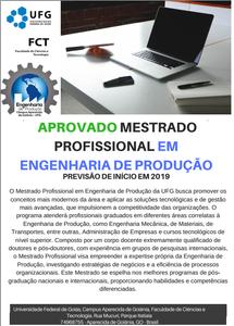 Mestrado em Engenharia de Produção FCT