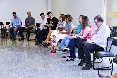 Reunião com diretores das regionais UFG 2