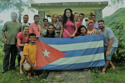 Estudantes da FIC em Cuba