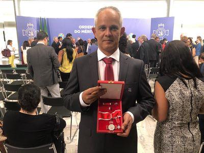 José Alexandre recebe Medalha Nacional do Mérito Científico