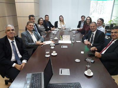 Reunião no MEC sobre as novas Universidades Federais
