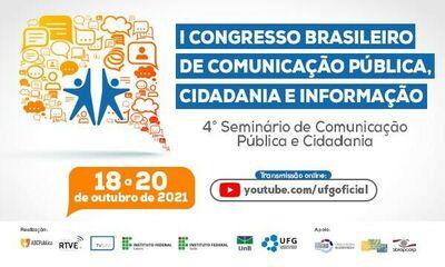 1º Congresso Brasileiro de Comunicação Pública, Cidadania e Informação