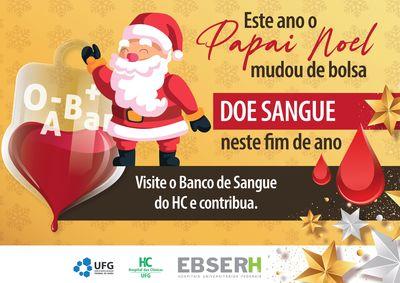 Campanha Neste Natal, doe sangue!