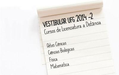 Cursos a distância no Vestibular 2014-2