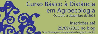 curso à distancia de agroecologia