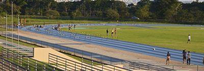pista de atletismo da FEFD