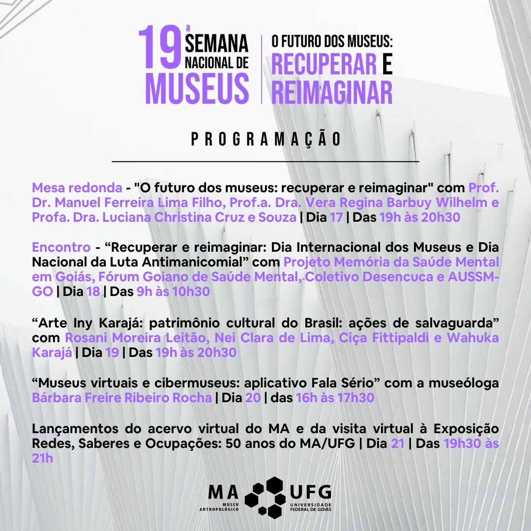 19 Semana Nacional Museus 3