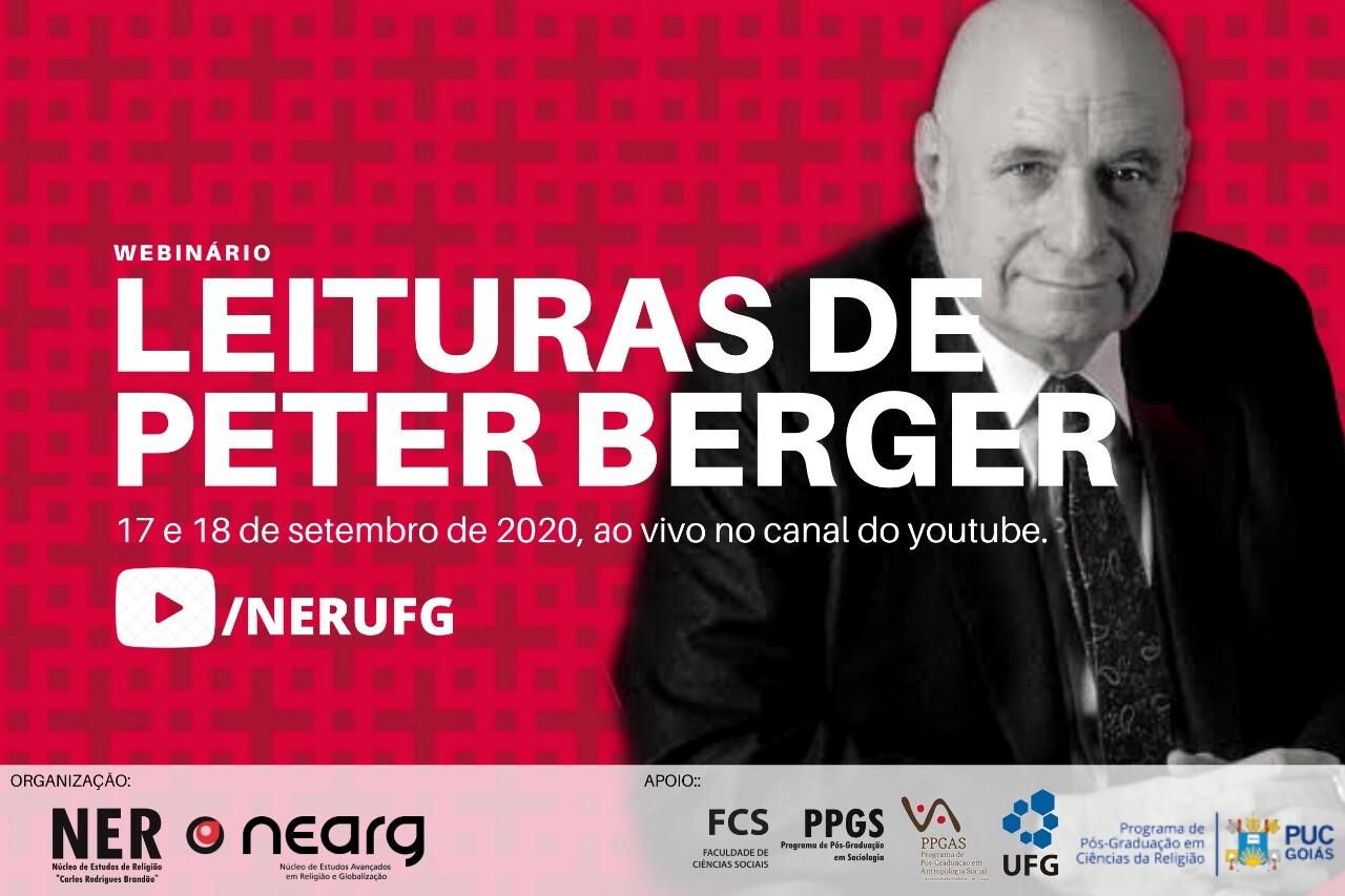 """Webinário """"Leituras de Peter Berger"""""""