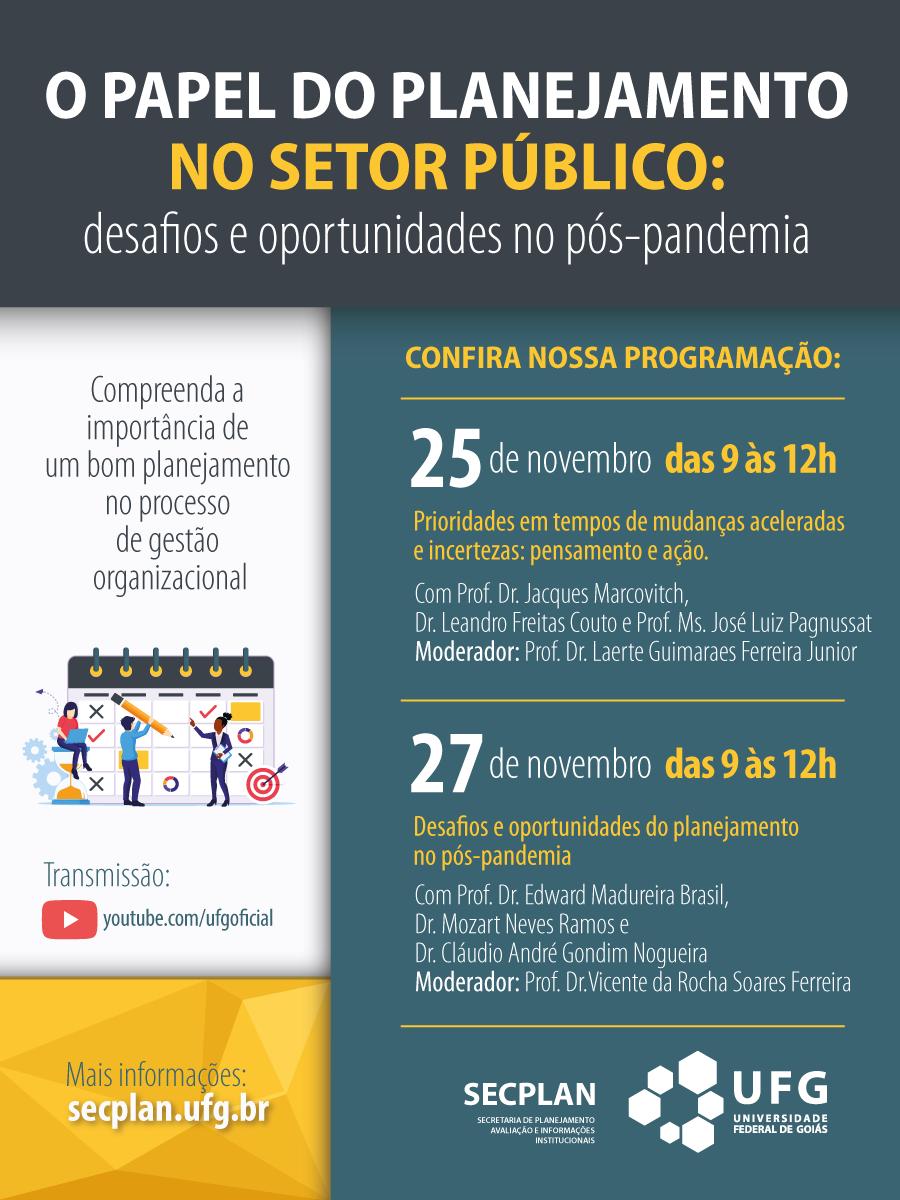 """Seminário """"O papel do planejamento no setor público"""" - 2"""