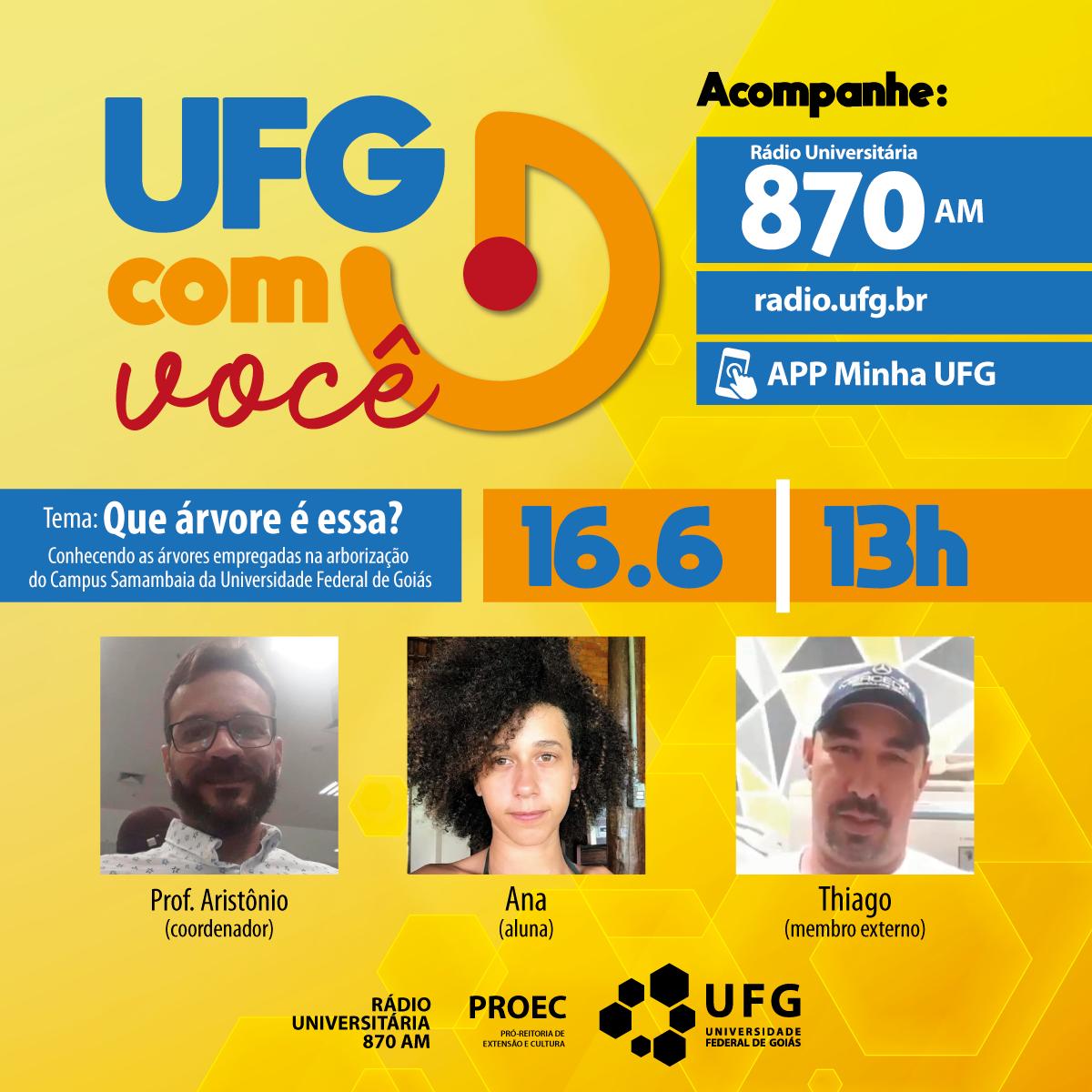 UFG com Você 16-6-21