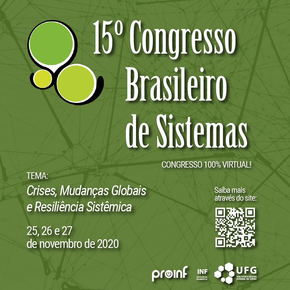 Congresso Brasileiro de Sistemas 2020