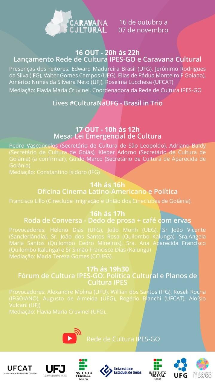 Caravana cultural rede ipes-GO 2