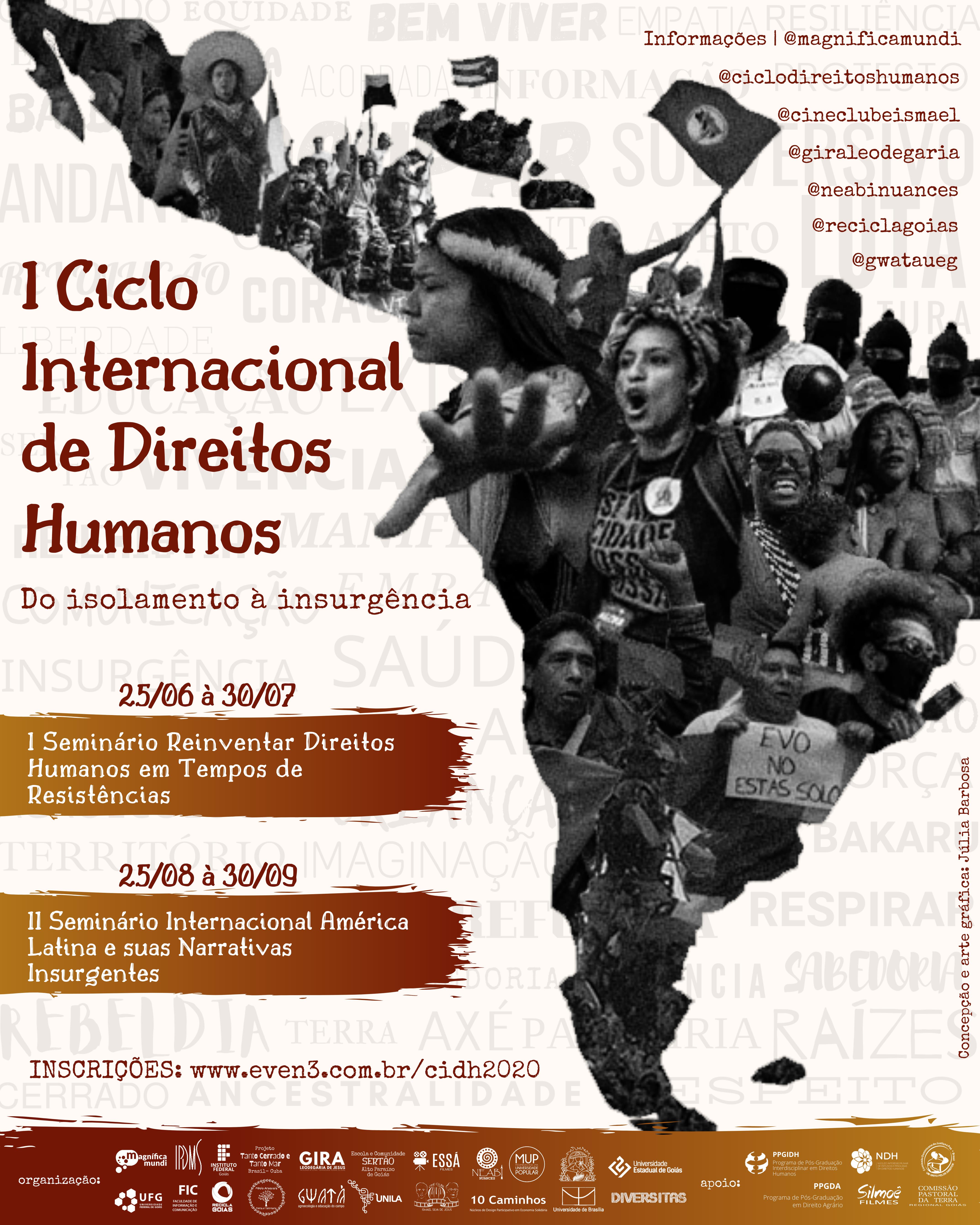 I Ciclo Internacional de Direitos Humanos - Do Isolamento à Insurgência