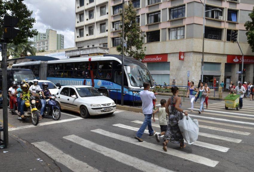 Centro de Goiânia é principal área de concentração de atividades e transporte coletivo 02
