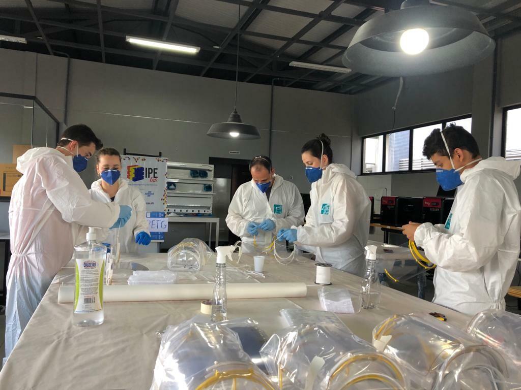 IPE Lab - onde os participantes poderão desenvolver protótipos