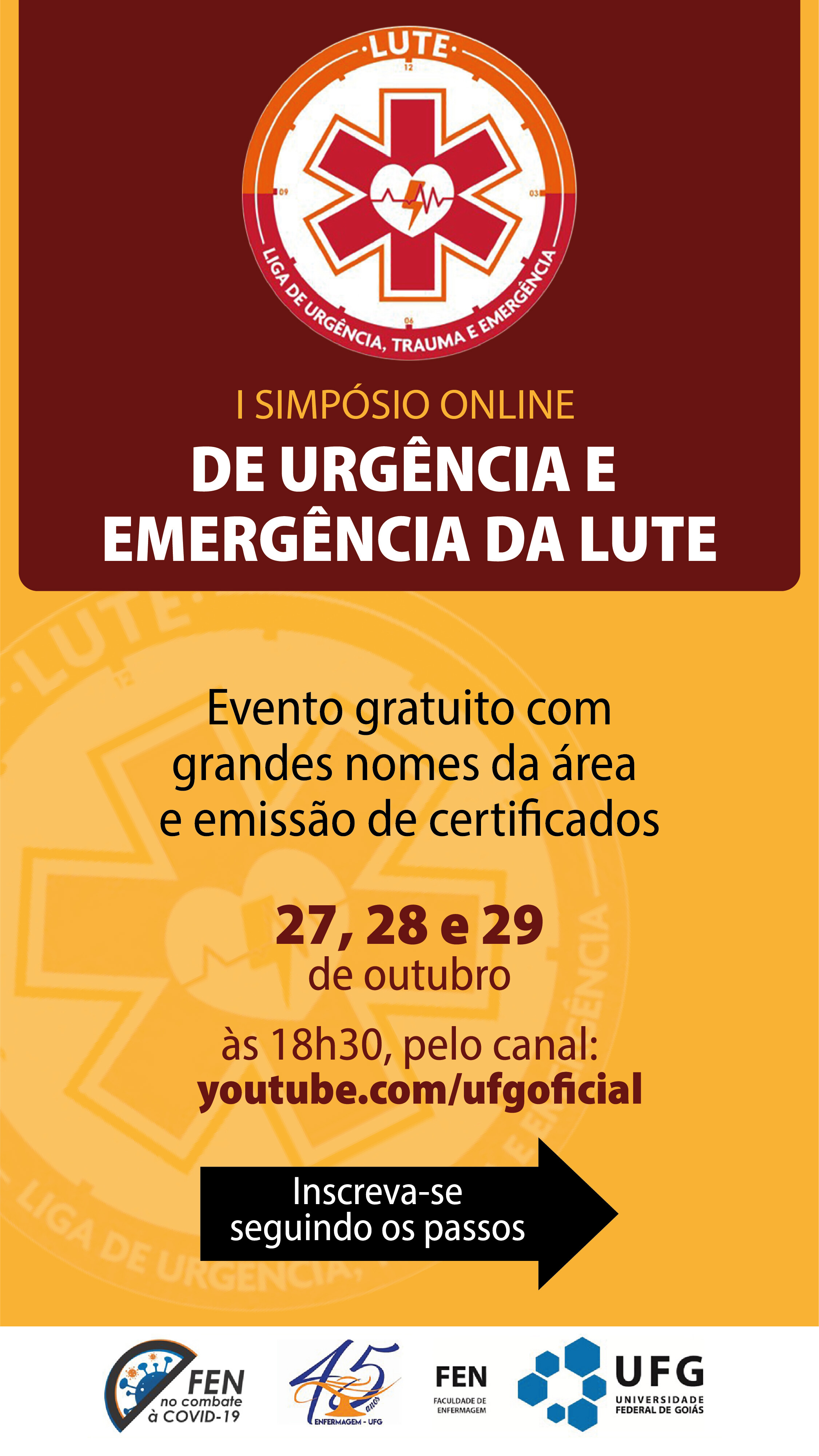 I Simpósio online de urgência e emergência da Lute