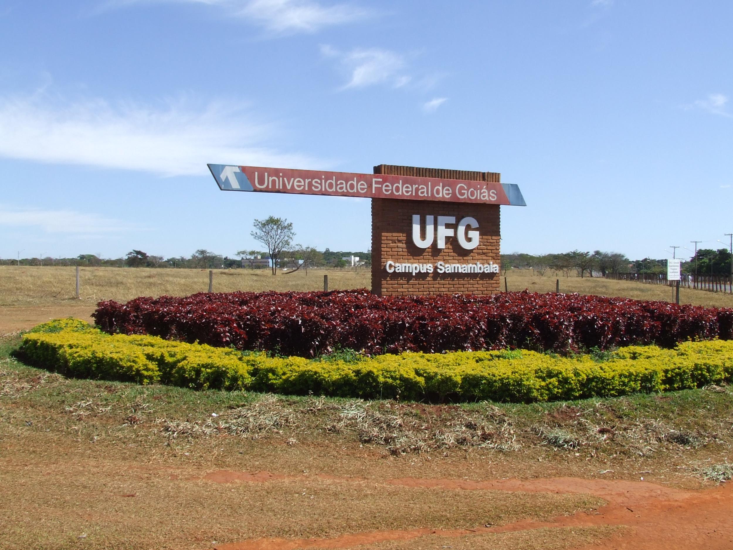 UFG - Universidade Federal de Goiás - Câmpus Samambaia