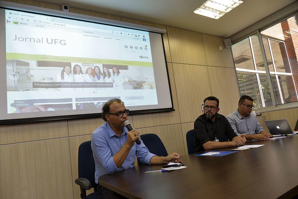 Lançamento portal Jornal UFG 2018