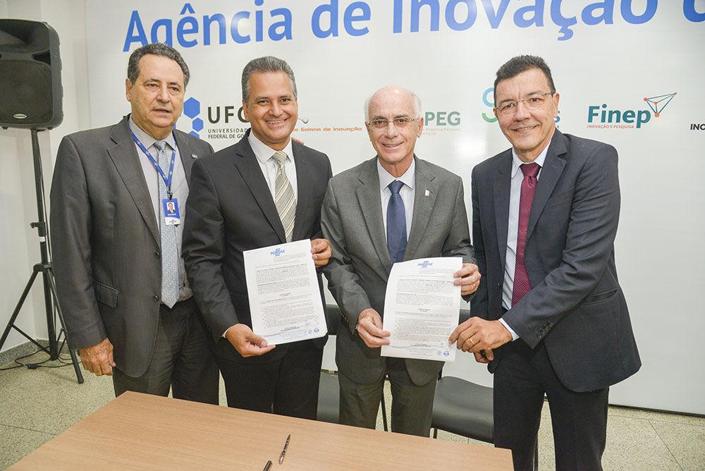 UFG inaugura Agência de Inovação do Parque Tecnológico Samambaia