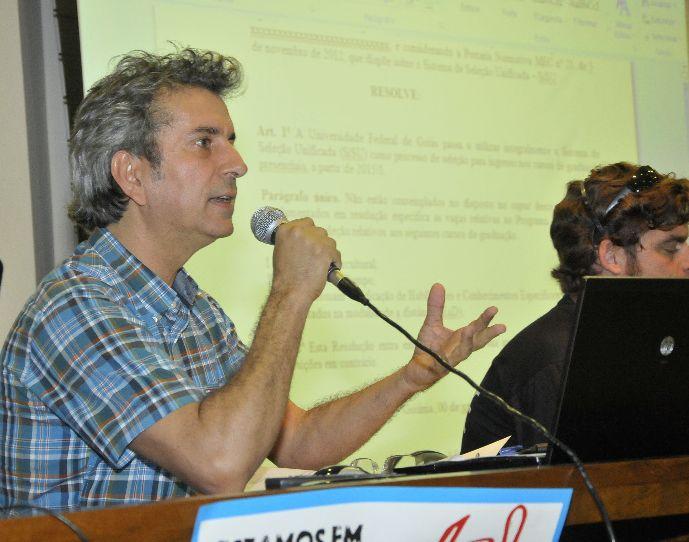 Pró-reitor Luiz Mello fala sobre adesão integral ao Sisu