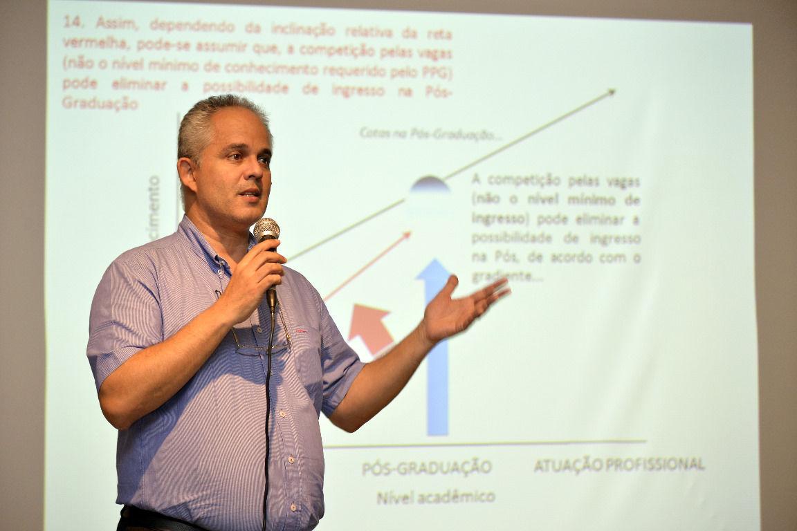 Pró-reitor de Pós-Graduação José Alexandre explica como funcionaria o novo sistema