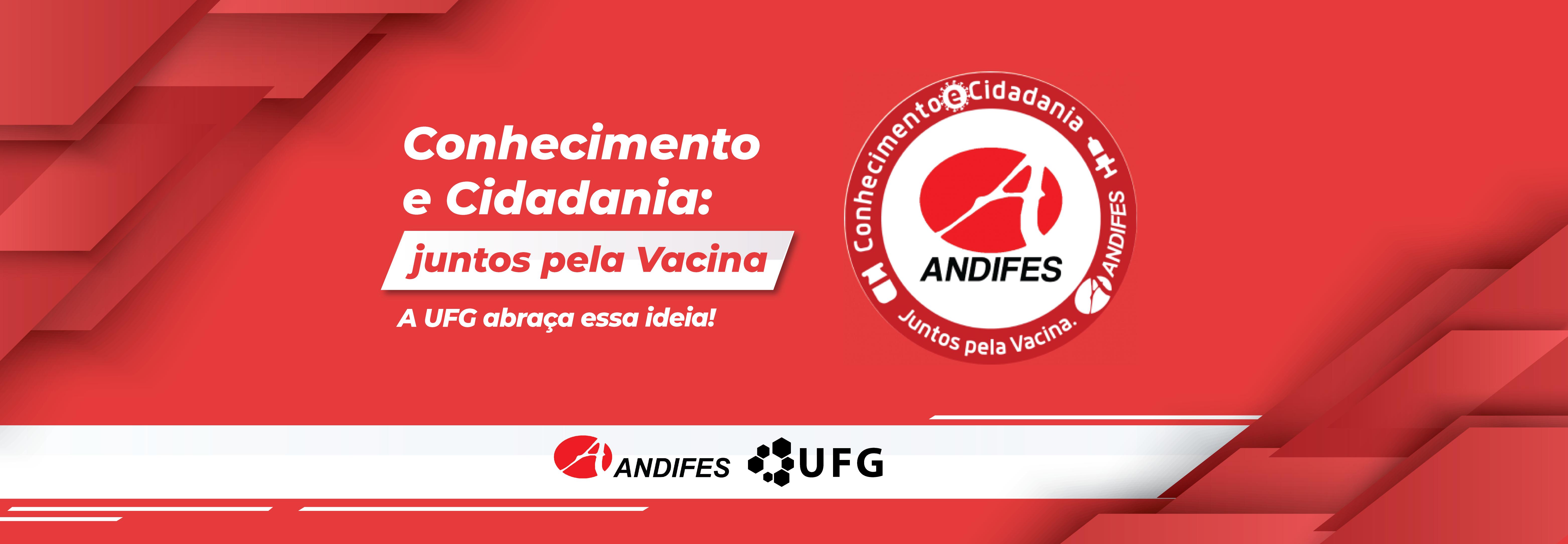 Andifes - Vacinação contra a covid-19 - banner