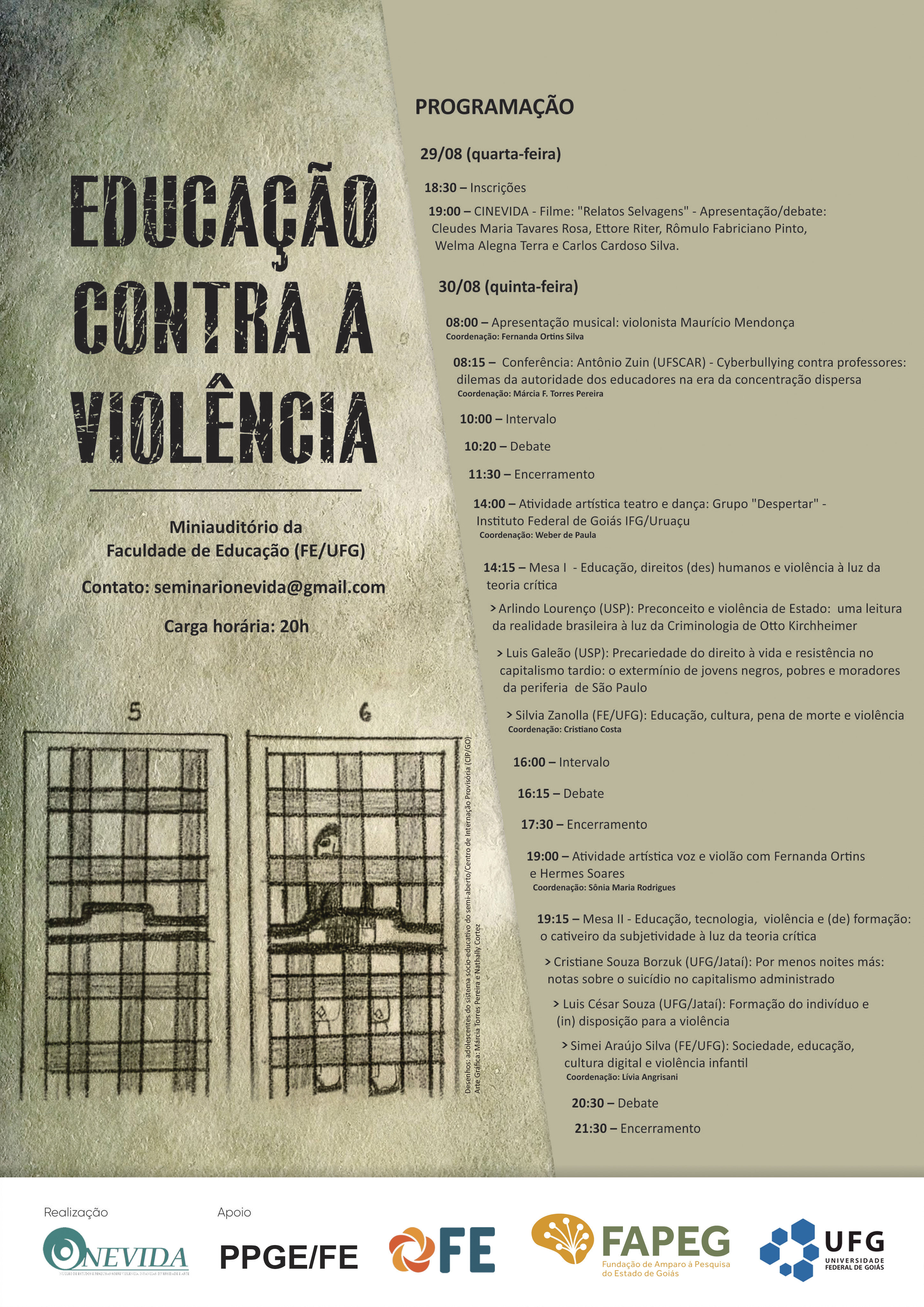 Seminário Educação Violência
