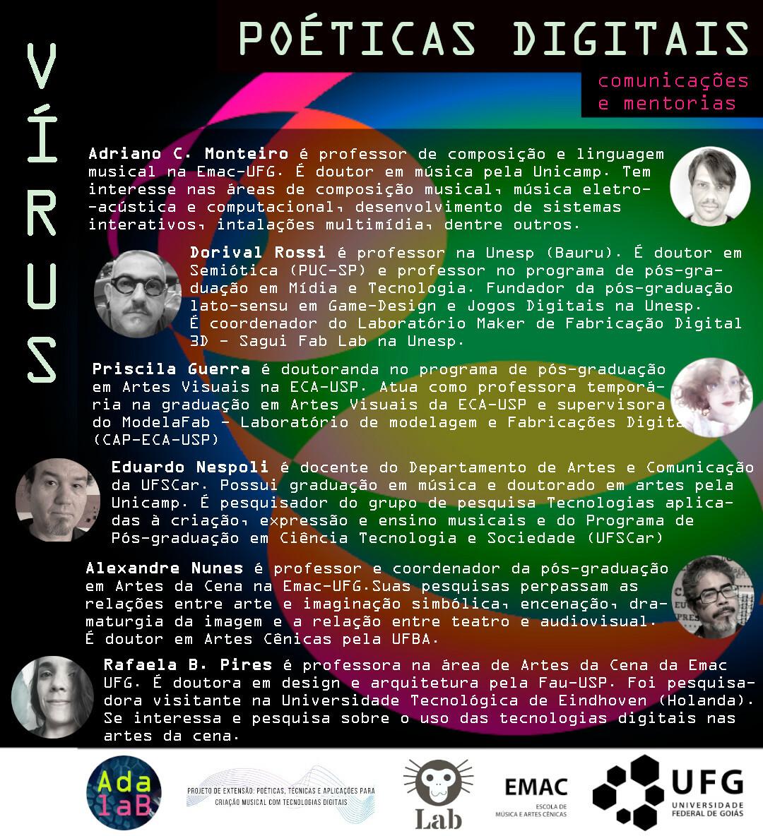 Série Vírus - palestras