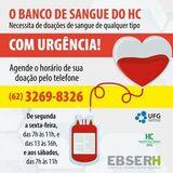 Banco de sangue do HC UFG