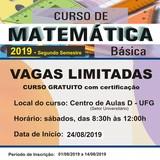 13ª edição do curso Matemática Básica em Perspectiva
