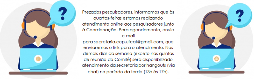 Atendimento Online - CEP/UFCAT